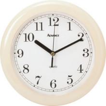 "8"" Wall Clock-Almond"