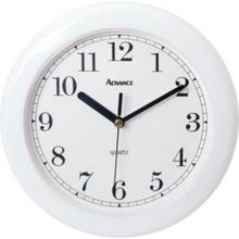 "8"" Analog Wall Clock - White"