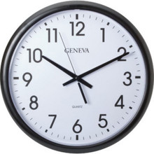 "14"" Commercial Analog Wall Clock"