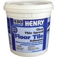 1 Gallon Henry 430 Vct Tile Adhesive