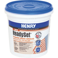 Henry 314 Premixed Adhesive 1 Gallon