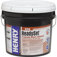 Henry 314 Premixed Adhesive 3.5 Gallon
