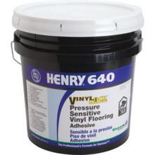 4 Gallon Henry 640 Vinyllock Adhesive