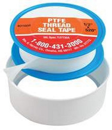 "1/2 X 520"" Teflon Tape ""Pkg Of 10"""