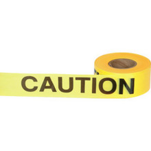 "3"" X 1000' ""Caution"" Barrier Tape"