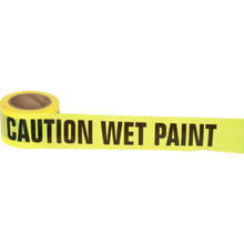 "3"" X 300' ""Wet Paint"" Barrier Tape"