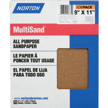 "9 X 11"" Assorted Sandpaper ""Pkg Of 25"""