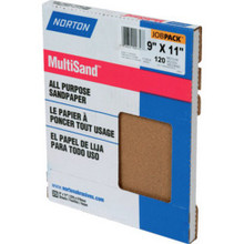 "9 X 11"" Medium Sandpaper ""Pkg Of 25"""