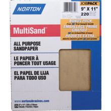 "9 X 11"" Fine Sandpaper ""Pkg Of 25"""