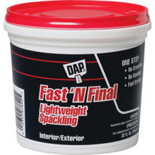 1 Qt Fast 'N Final Lightweight Spackle
