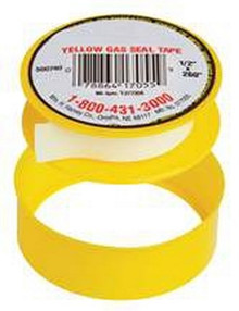 "1/2"" X 260"" Yellow Gas Line Teflon Tape"