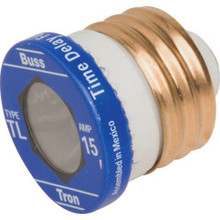 "15A Time Delay Plug Fuse ""Pkg Of 4"""