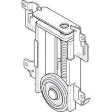 "Charmac Mirror Door Roller ""Pkg Of 2"""