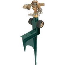 Brass Impact Sprinkler On Zinc Spike