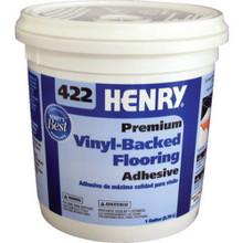 "4 Gallon Henry 422 Vinyl Adhesive ""Fob"""