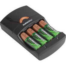 Aa/Aaa Duracell Nimh Battery Charger W/4 Aa