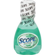 Scope Mouthwash Minty 1.5 Ounce Case Of 180