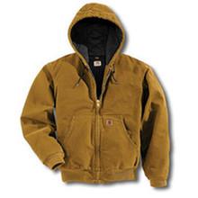 2X Reg Brn 12 Ounce Cttn Jacket