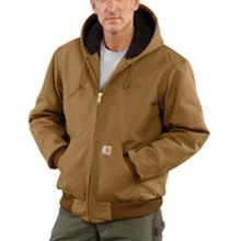 2X Reg Brn 12 Ounce Cttn Jacket Zipclosure