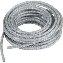"3/16"" X 25' Coated Cable"