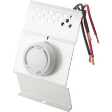 Baseboard Thermostat 2- Pole - White