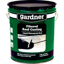5 Gal Fibered Roof Coating