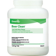 Beer Clean Low Suds Glss Cleaner 100/Cs