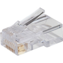 "Cat 5 8X8 Modular Cord Plug ""Pkg Of 10"""