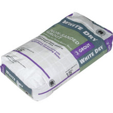 25Lb Dry White Grout Floor/Wall