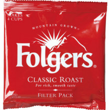 "Folgers Classic Filter Pck ""Case Of 200"""