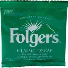 "Folgers Decaf Filter Pck ""Case Of 200"""