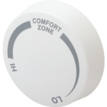 Baseboard Thermostat Knob - Almond