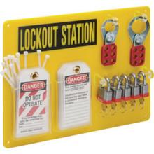 5 Lock Lockout/Tagout Station