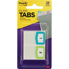 Post-It Preprinted Filing Tabs Pk/2