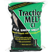 "Traction Melt - 50Lb ""Pallet Of 50 Bags"""