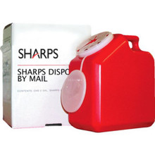 2 Gal Sharps Mailback Container