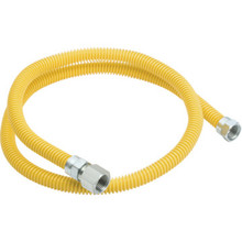 "DORMONT 48"" COATED FLEXIBLE GAS LINE"