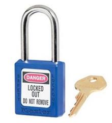 """Blue #410 1 3/4"""" Safety Lockout"""