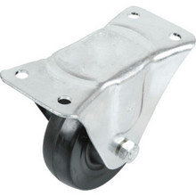 "4"" Plate Style Rigid Caster"