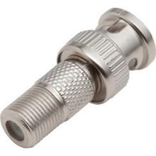 Bnc Plug F Jack Adapter 4/Pkg