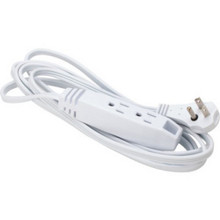 10' 16/3 3-Outlet Low Profile Ext. Cord