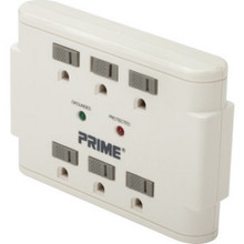 6 Outlet Plug-In Surge Tap W/Led