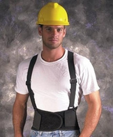Back Support W/Suspenders Small