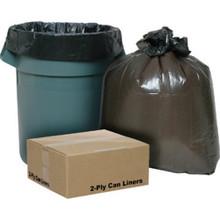"""56 Gallon 2-Ply Trash Liner """"Pkg Of 100"""""""