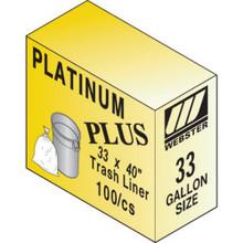 """55-60 Gal H Dty Trash Liner """"Pkg Of 50"""""""