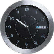 "11"" Wall Clock With Day Date"