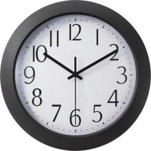 "Office Depot 12"" Flat-Panel Rnd Clock"