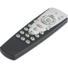 1 Device Universal Remote Silver / Black