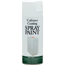 12 Ounce White Enamel Cabinet Spray Paint