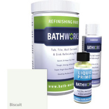 Bathtub & Wall Refinishing Kit - Biscuit